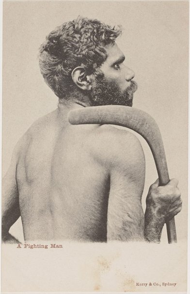 An image of A fighting man by Unknown photographer, Kerry & Co