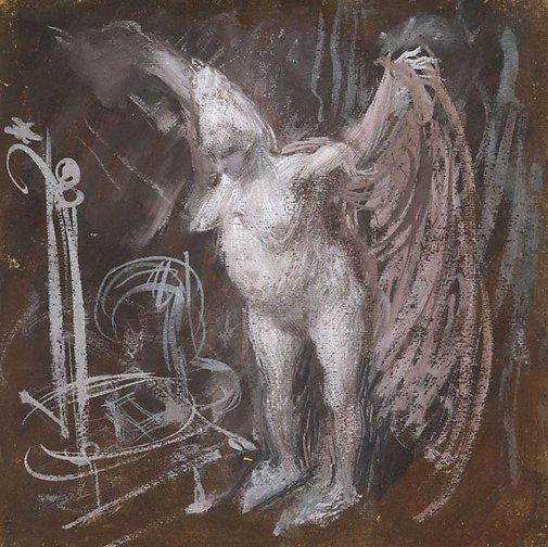 "An image of Study for ""The duchess disrobes"" by William Dobell"