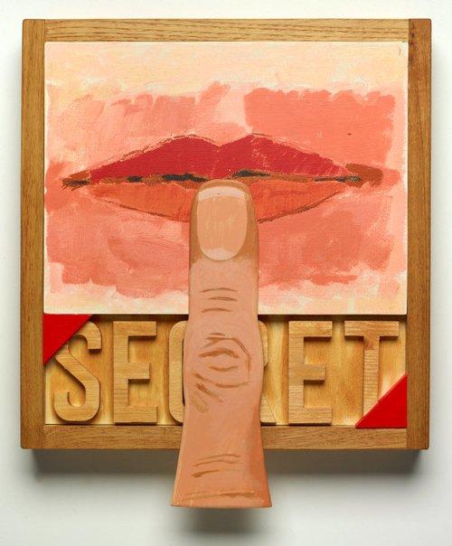 An image of Secret by Joe Tilson