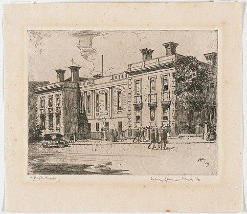 An image of Sydney Grammar School by A Henry Fullwood