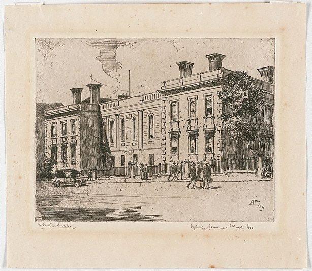 An image of Sydney Grammar School