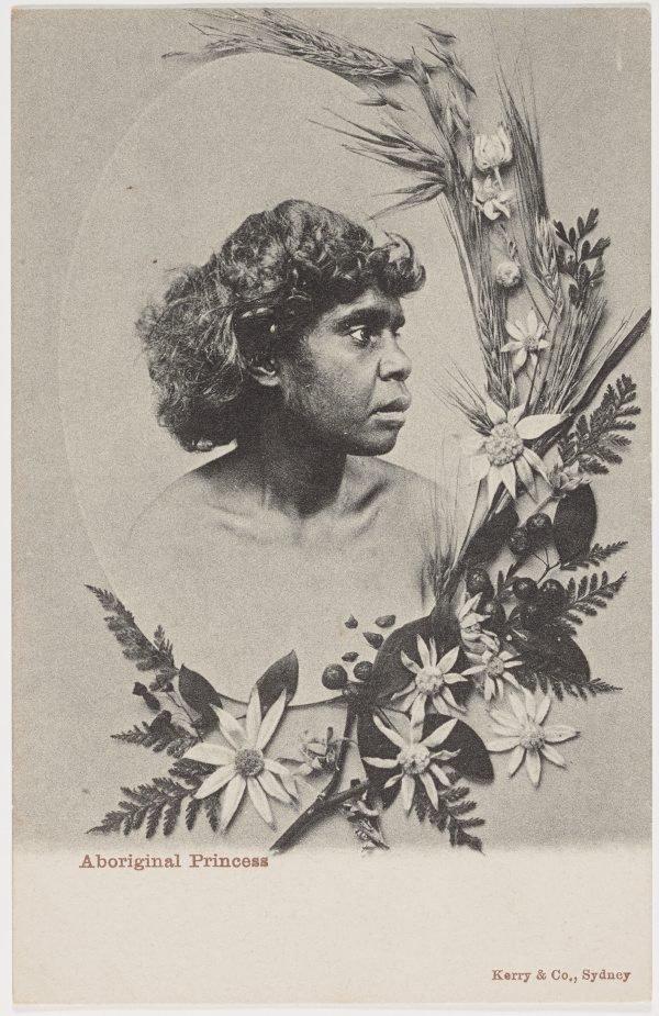An image of Aboriginal princess