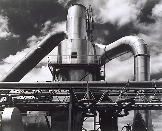Pyneboard Factory, Tumut, New South Wales (1), (1977, printed 1983) by Max Dupain