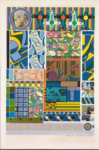 An image of Sun city by Sir Eduardo Paolozzi