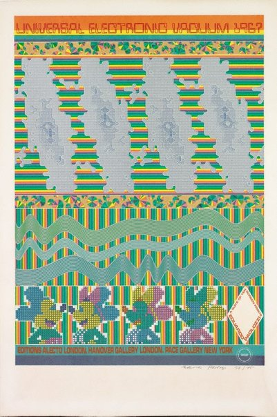 An image of Poster by Sir Eduardo Paolozzi