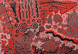 Watiku Nguru Pulkana, (2015) by Ned Grant, Simon Hogan, Lawrence Pennington, Lennard Walker, Roy Underwood, Winmati Roberts