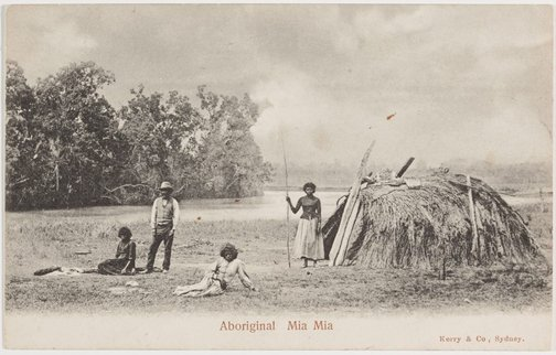 An image of Aboriginal Mia Mia by Unknown photographer, Kerry & Co