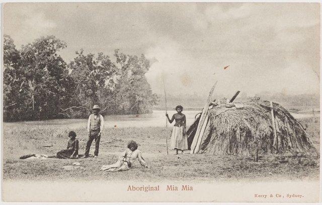 An image of Aboriginal Mia Mia