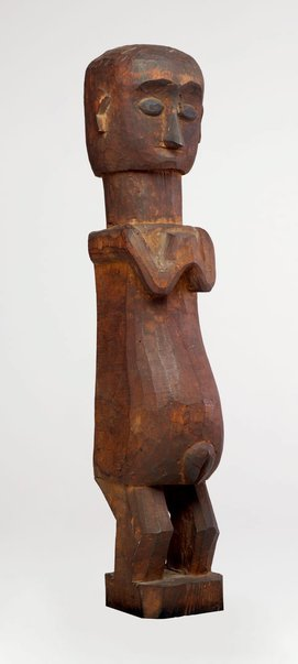 An image of Female ancestral or protective figure (adu) by
