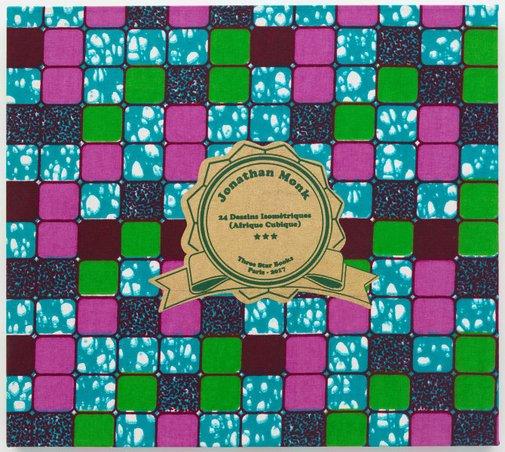 An image of 24 Dessins Isométriques (Afrique Cubique) by Jonathan Monk