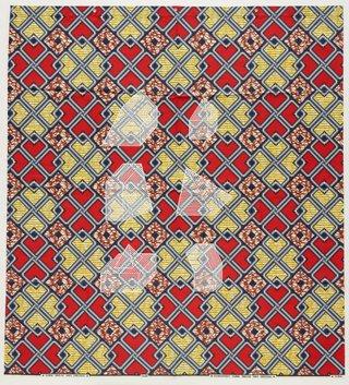 AGNSW collection Jonathan Monk Dessins Isométriques (Afrique Cubique) A3 (2017) 524.2017