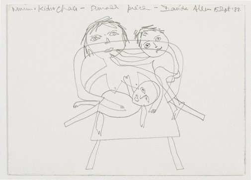 An image of Mum and the kids by Davida Allen
