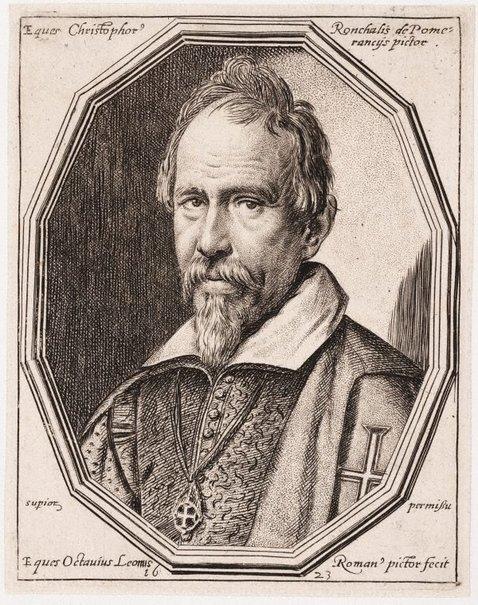 An image of Christofano Roncalli da Pomeranci by Ottavio Leoni