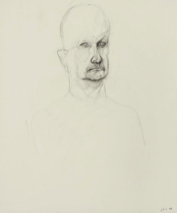 An image of Untitled portrait of G