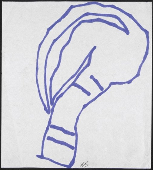 An image of Head (Sketch for triptych) by Bill Brown