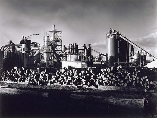 An image of Pyneboard Factory, Tumut, New South Wales (2) by Max Dupain