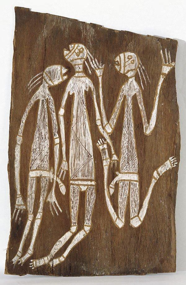 An image of Three Namarndei dancing