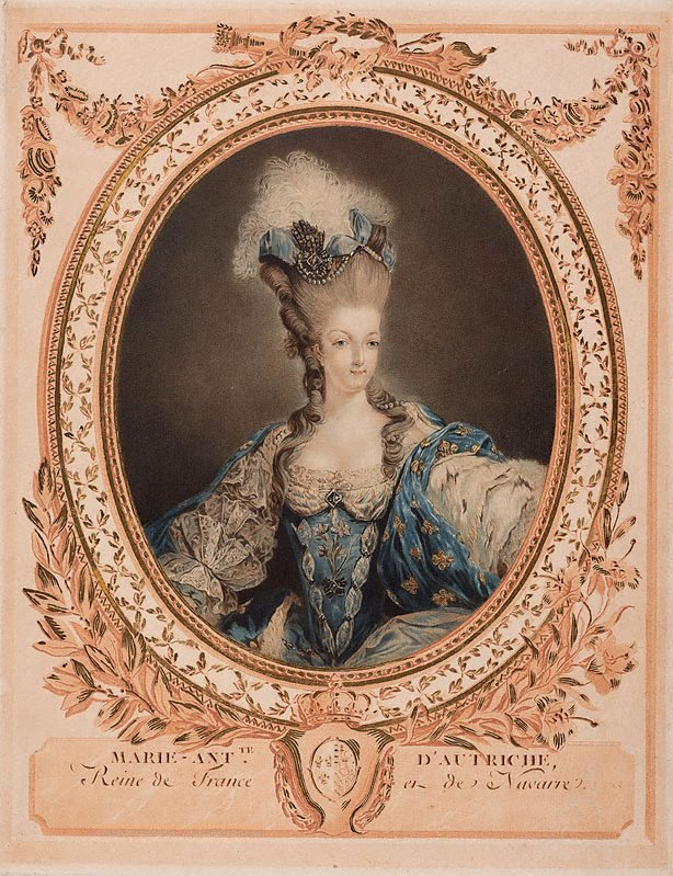 An image of Marie Antoinette