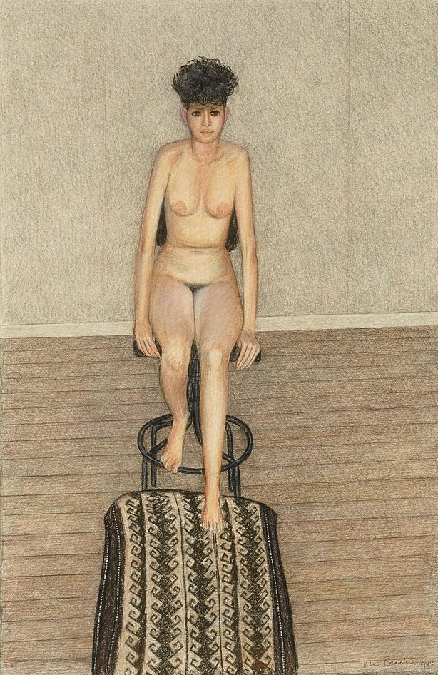 An image of Nude with revolving chair