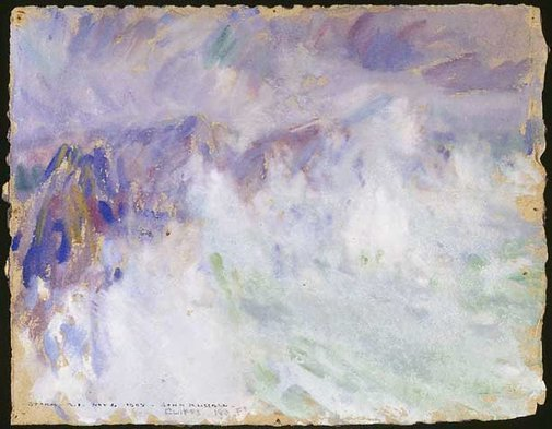 An image of Storm, Belle Ile by John Russell