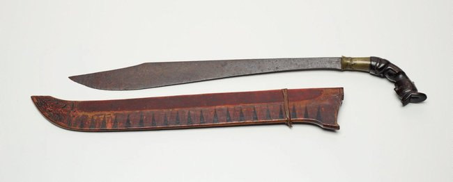 AGNSW collection Short sword (piso sanalenggam) late 19th century-early 20th century