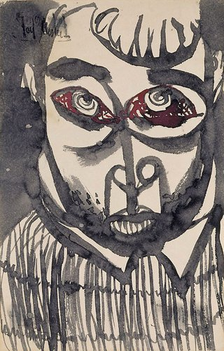 AGNSW collection Joy Hester Frightened circa 1945