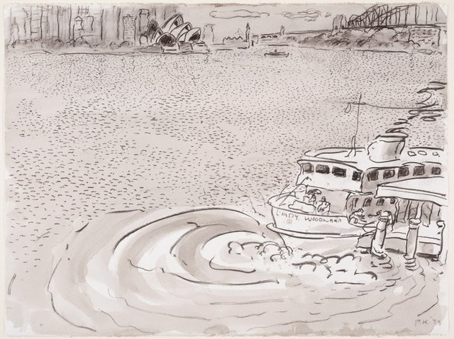 An image of Robertson's Point, Cremorne