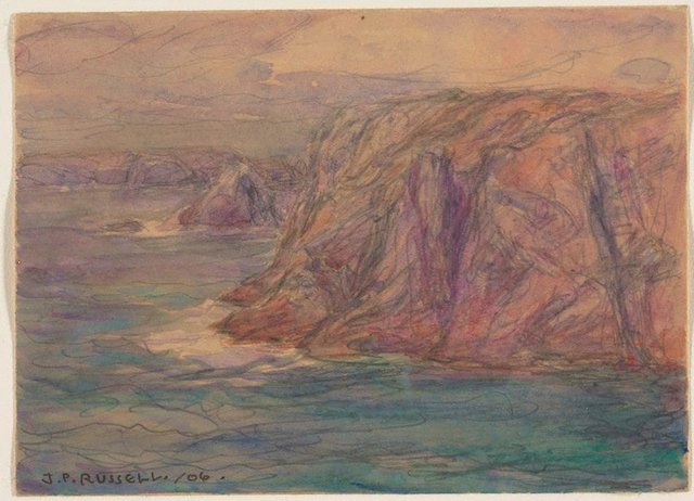 An image of Cliffs, Belle Ile