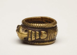 AGNSW collection Finger ring (cincin) late 19th century-early 20th century