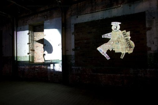 An image of I am not me, the horse is not mine by William Kentridge