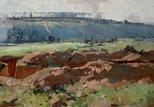 Alternate image of Villers-Bretonneux by Arthur Streeton