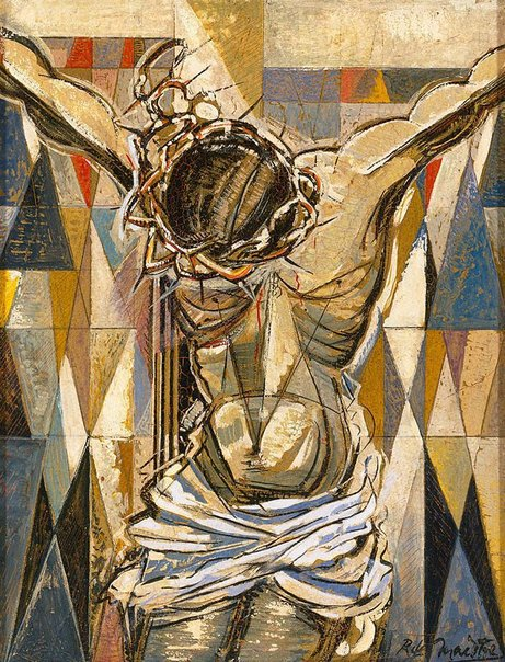 An image of Crucifixion by Roy de Maistre