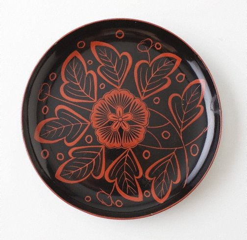 An image of Dish by Yoshino lacquerware