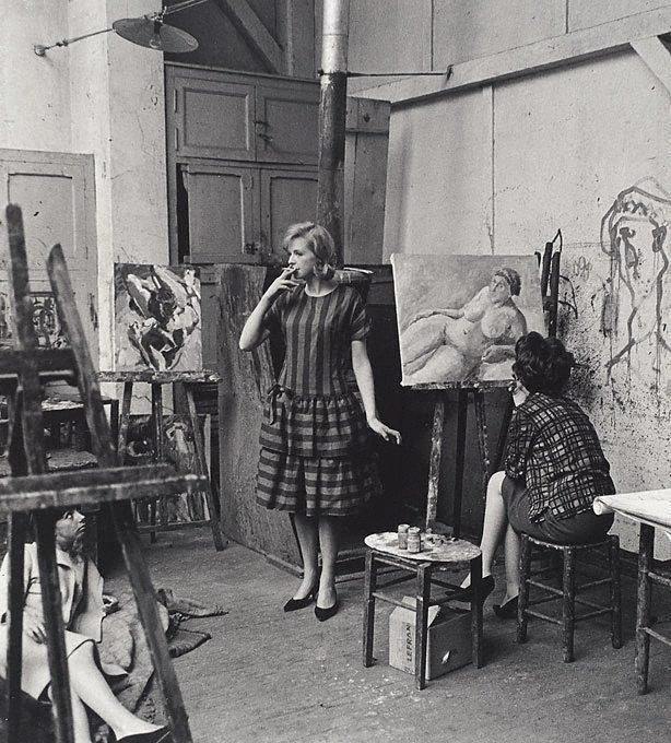 An image of Susannah York, Paris, for 'Go!'