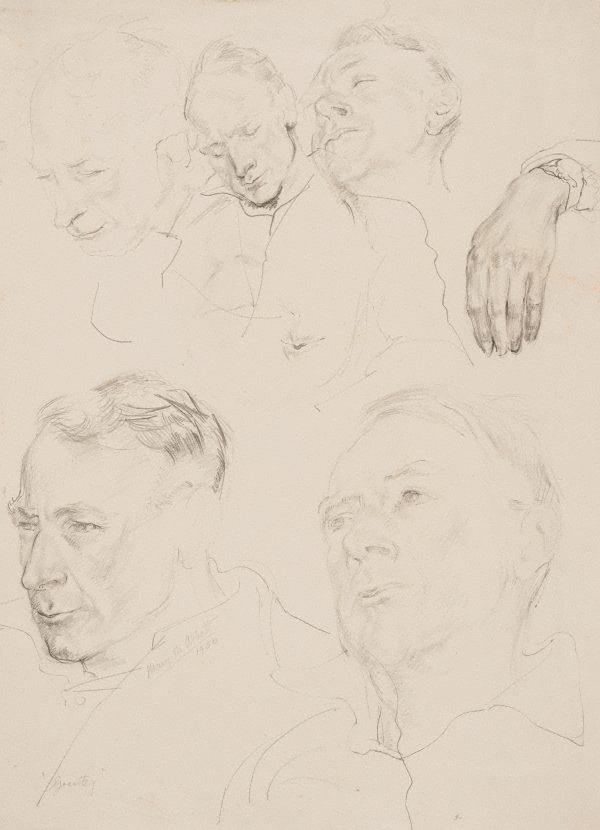 An image of Grantley (head studies)