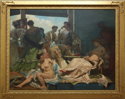 An image of Summer time by Rupert Bunny