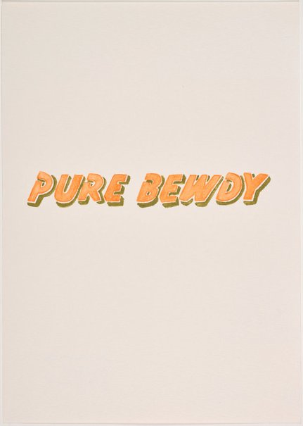 An image of Pure bewdy by Jon Campbell
