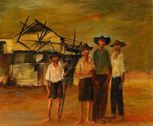 An image of Four boys in Cooktown