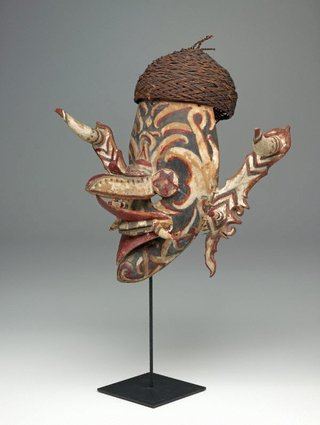 AGNSW collection Ceremonial dance mask (hudoq) 19th century-20th century