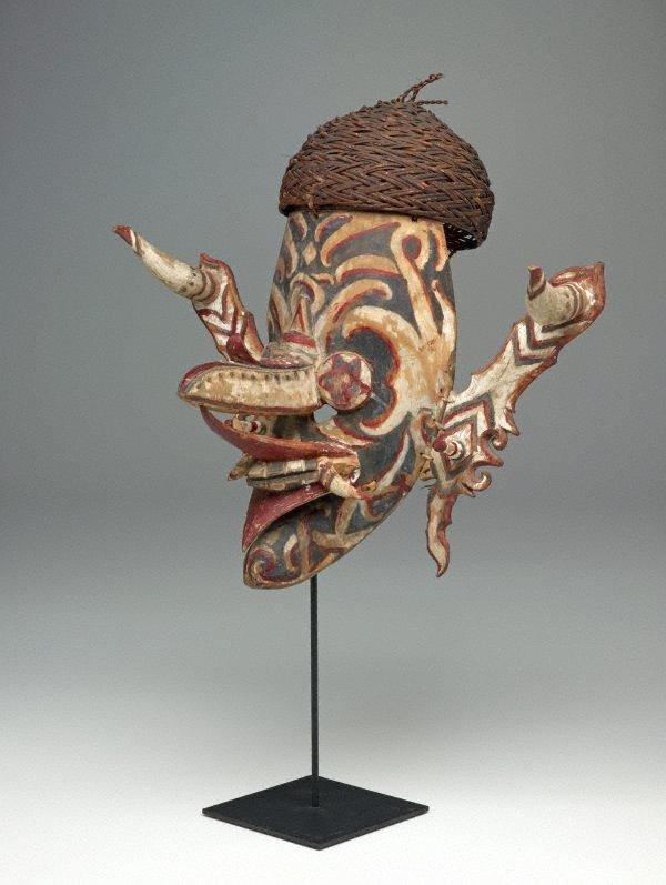 An image of Ceremonial dance mask (hudoq)