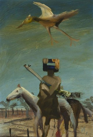 AGNSW collection Sidney Nolan Ned Kelly 1955