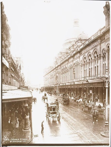 An image of George Street by Market Street by Unknown, Kerry & Co