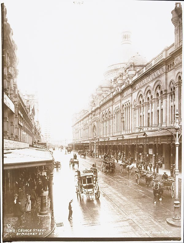 An image of George Street by Market Street
