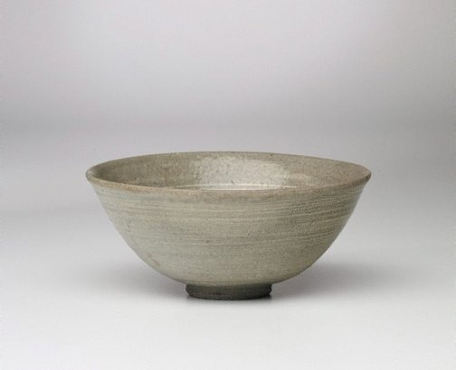 An image of Bowl by Punch'ong ware