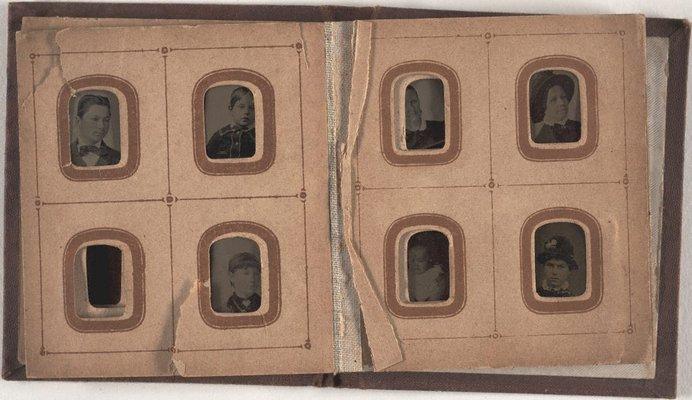 Alternate image of Album 3 (album of tintype portraits) by Gove & Allen