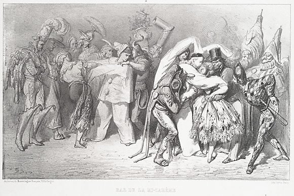 An image of Mid-Lent ball