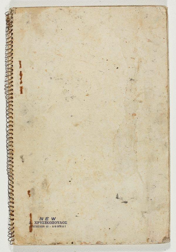 An image of Sketchbook no. 9: Sydney, Werri, Tasmania 1960s
