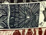 Alternate image of A canoe of many passengers by Michael Tuffrey, Matatia Warrior, Avril Ahwang, Warren Brim, Ethel Sambo, Bianca Mahoney, Glen Mackie, Anna Eglitas, Sheila Sparks, Vicki Igibi
