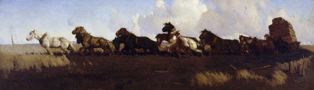 Across the black soil plains, (1899) by George W Lambert