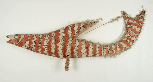 An image of Ceremonial decoration (fish)